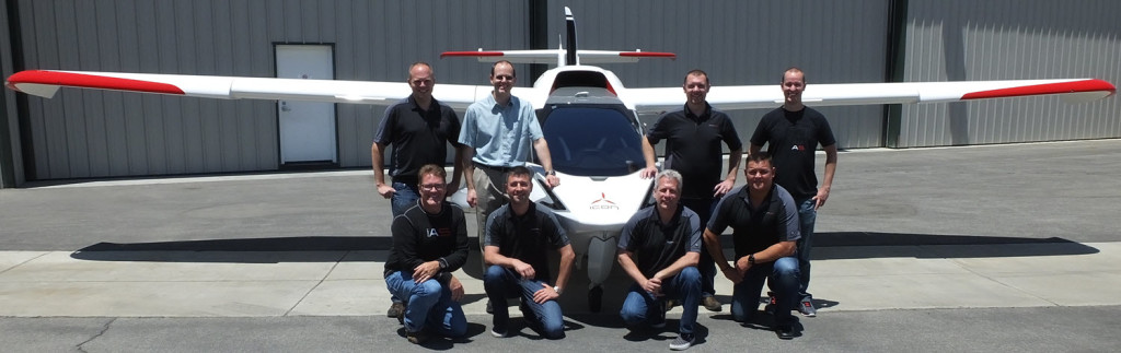 Adam with ICON A5 Cert Team