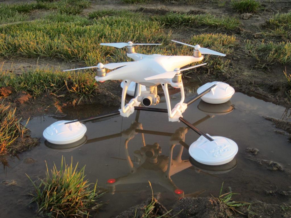WaterStrider on Phantom on muddy water